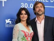 海秀《大毒枭》威尼斯首映 哈维尔夫妇携手亮相