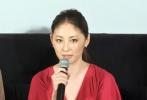 而曾与张国荣、刘德华都曾合作的女星常盘贵子也携新片《花筐》出席。