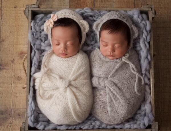 恭喜张雨绮喜获龙凤胎!两位宝宝已满月十分可爱