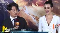 《引爆者》在京首映 段奕宏初见余男装高冷