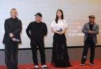 """即将于12月15日上映的《奇门遁甲》在昨日举行了上海观众映后见面会,令人意想不到的是,场上观众竟然还有友情客串的黄晓明以及《乘风破浪》《后会无期》的导演韩寒。韩寒表示:""""非常感谢之前徐导给过的鼓励。""""亲临现场的监制编剧徐克、导演袁和平,制片人魏君子以及主演倪妮等人更是透露出电影幕后不少花絮。"""