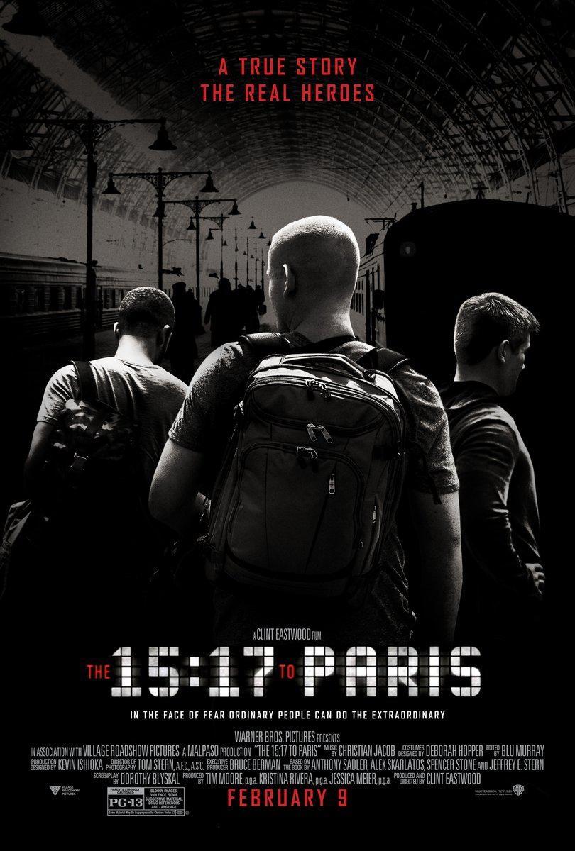 《15点17分,启程巴黎》