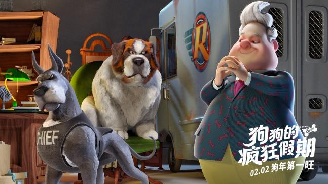 《功夫熊猫》系列,《疯狂动物城》,《寻梦环游记》,《天才眼镜狗》
