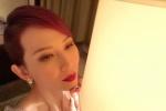 蔡少芬获年度风尚影响力女艺人 妆容精致身材诱人