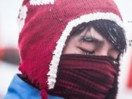 《南极之恋》幕后装备篇 赵又廷裹棉被冻到流鼻涕