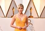 北京时间3月5日,第90届奥斯卡金像奖颁奖典礼在好莱坞杜比剧院举行,红毯上星光熠熠,巨星云集。图为:《伯德小姐》沙龙网上娱乐格蕾塔·葛韦格。