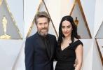 北京时间3月5日,第90届奥斯卡金像奖颁奖典礼在好莱坞杜比剧院举行,红毯上星光熠熠,巨星云集。图为:《佛罗里达乐园》威廉·达福。