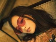 又见倪妮式时尚大片 电影质感迷离光影间尽显梦幻