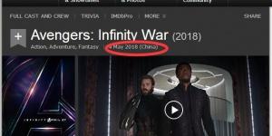 《复仇者联盟3:无限战争》定档5月4日内地上映