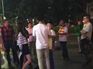 什么情况?网友深夜偶遇 王晓晨韩庚街头热聊