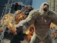 《狂暴巨兽》上映 五大看点揭秘硬汉强森热血打怪