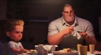 """《超人总动员2》沙龙网上娱乐片 超能先生化身""""家庭煮夫"""""""