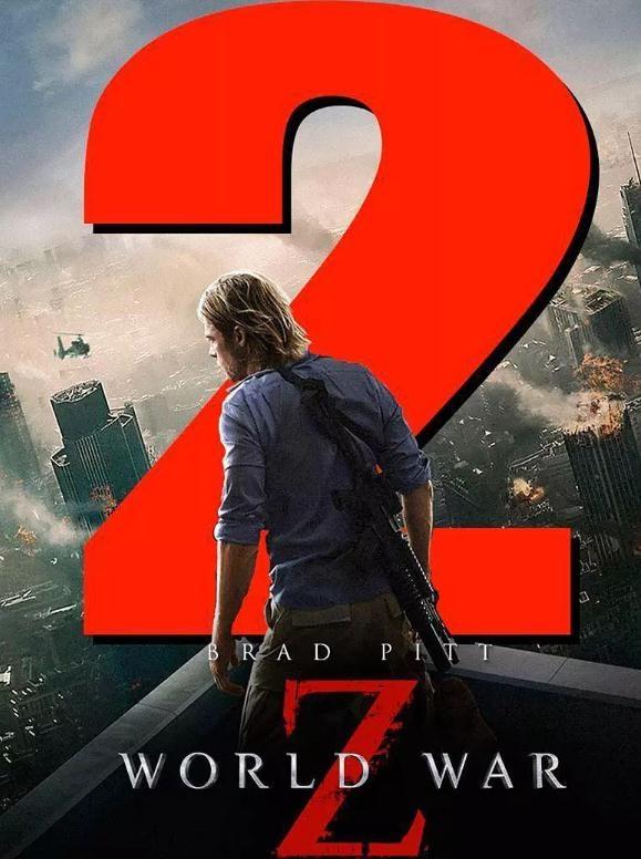 《僵尸世界大战2》有望明年开拍 剧本已开始创作!