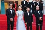 《江湖儿女》戛纳首映礼 现场观众起立鼓掌5分钟