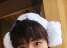 王俊凯521掐点送祝福 收下这朵沐浴装的fafa!