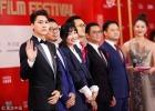 上海沙龙网上娱乐节红毯星光璀璨 李易峰、张智霖男神云集