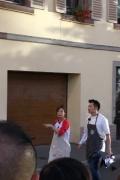 《中餐厅2》录制接近尾声 赵薇亲测王俊凯脸大小