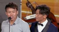 """崔龙龙获成龙电影周最佳男替身荣誉 """"真身""""王宝强为其颁奖"""