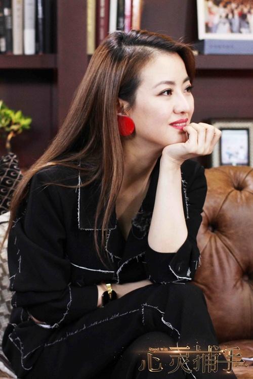 《心灵捕手》佛系杨子姗 潜心拍戏努力做个好演员