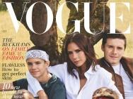 养眼贝克汉姆家族大片来袭!登封英国《Vogue》