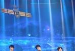 9月19日,TFBOYS合体参加央视2018国庆特别节目