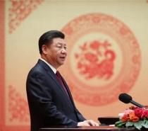 新華網:習近平等黨和國家領導人出席國慶招待會