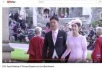 刘强东夫妇出席英国皇室婚礼 奶茶被错认日本公主