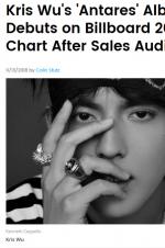 Billboard榜单核实结果公布 吴亦凡排第100位