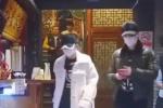 冯绍峰赵丽颖吃饭再被偶遇 全副武装行色匆匆离开