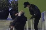 王源魏大勋为翻越栏杆致歉 粉丝解释遭到狗仔偷拍