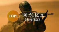 2018年度华语电影票房榜出炉 《红海行动》以36.51亿元位列第一!