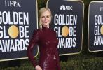美国当地时间1月6日晚,第76届美国电影电视金球奖颁奖礼在洛杉矶举行。红毯上,囊括各大高奢品牌的精美华服,众女星香艳亮相,领金球奖红毯更加璀璨夺目。