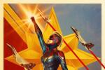 《惊奇队长》曝三张全新海报 风格各异暗藏玄机