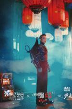 """《流浪地球》曝时尚d8899尊龙娱乐游戏 刘慈欣变身""""科幻型男"""""""