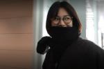 宋慧乔离婚传闻后独自现身机场 无名指不见婚戒!