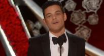 不负众望!拉米·马雷克获奥斯卡最佳男主角 表演极具爆发力