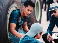 《紧急救援》首曝片场照 林超贤被赞中国迈克尔贝