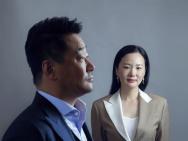 《地久天长》剧组登封 最佳男女主王景春咏梅合体