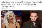 Lady Gaga与鹰眼暧昧? 两人处在有意交往初期