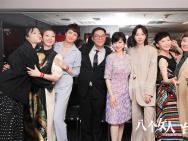 《八个女人》观影派对 半个香港电影圈齐聚call