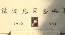 清明节为陈波儿同志扫墓 追思和缅怀中国电影教育事业前辈