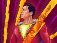 《雷霆沙赞!》曝光艺术海报 完美展现英雄气度