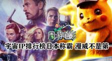周游电影:宇宙IP排行榜日本称霸 漫威不是第一?