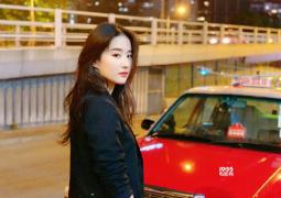 劉亦菲曬頭戴發卷搞怪自拍 與友人合影美麗又可愛