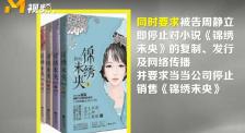 《锦绣未央》侵权首案宣判 作者被判侵权成立赔偿原告13.65万元