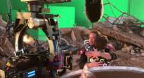 《复仇者联盟4:终局之战》拍摄特辑 钢铁侠蜘蛛侠重逢拥抱
