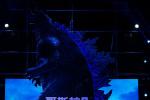 《哥斯拉2》中国首映礼 章子怡分享怪兽宇宙趣事