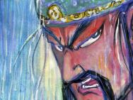 國漫《武圣關公》首發海報 蔡志忠手繪近萬幅手稿