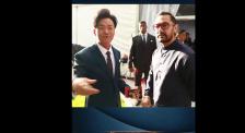 阿米爾·汗中國重逢老友 王寶強自曝:每次他來中國我都接待