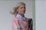 霸气十足!凯特·布兰切特现身《无界之殇》片场